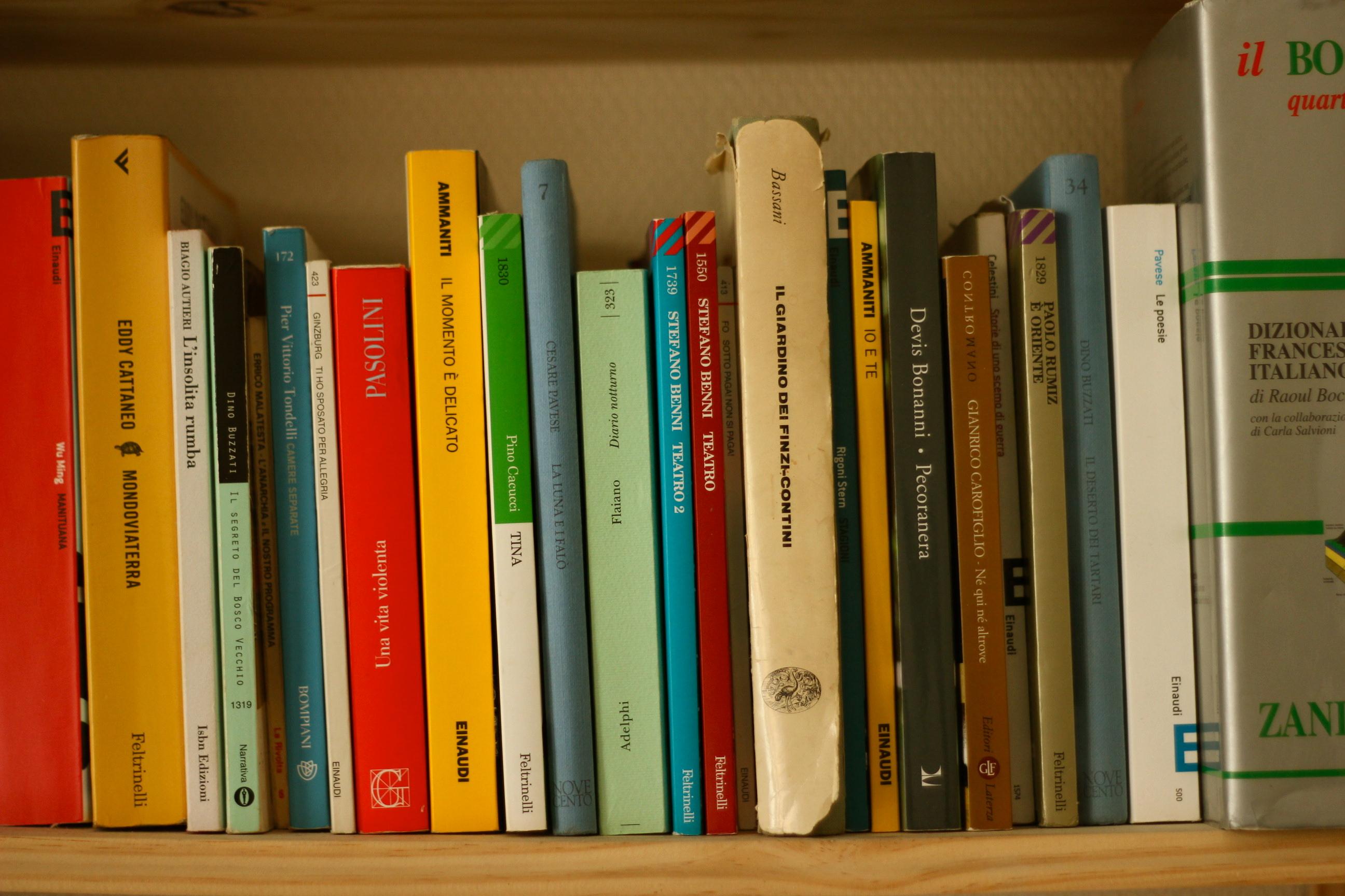 librairies italiennes Paris