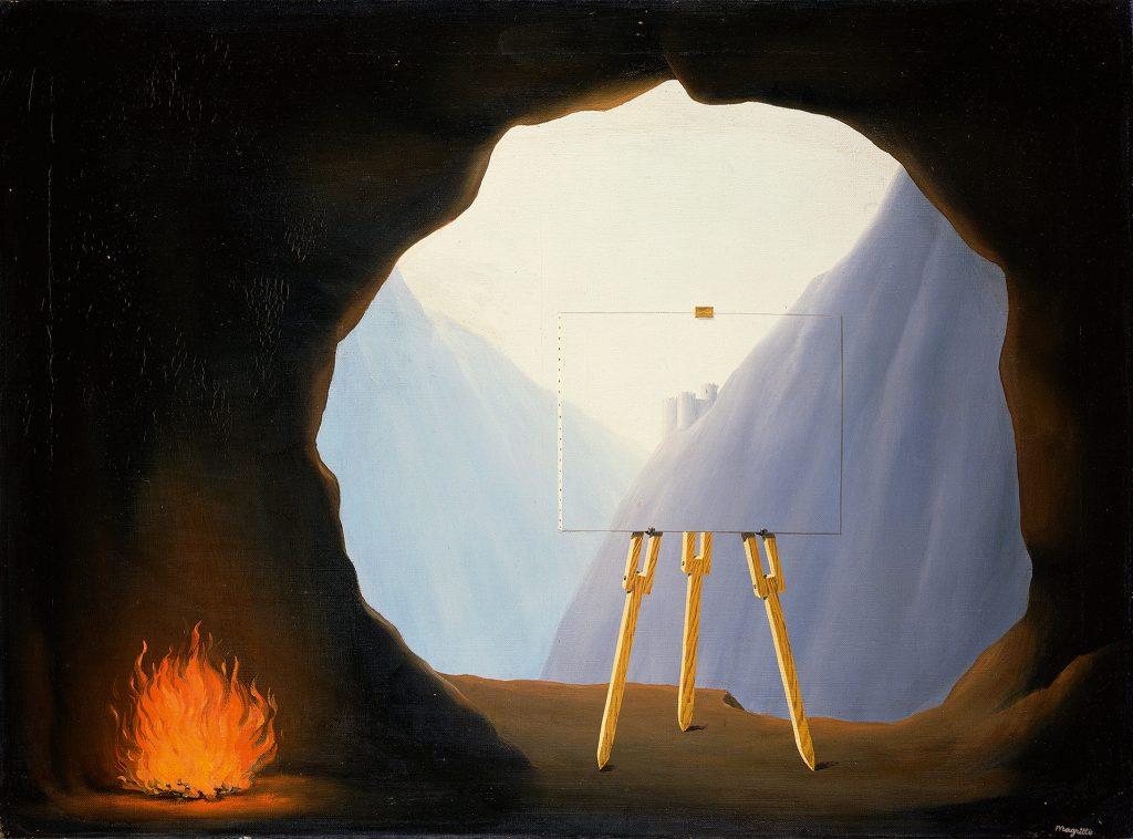 René Magritte, La Condition humaine, 1935 - Huile sur toile, 54 x 73 cm - Norfolk Museums Service - © Adagp, Paris 2016