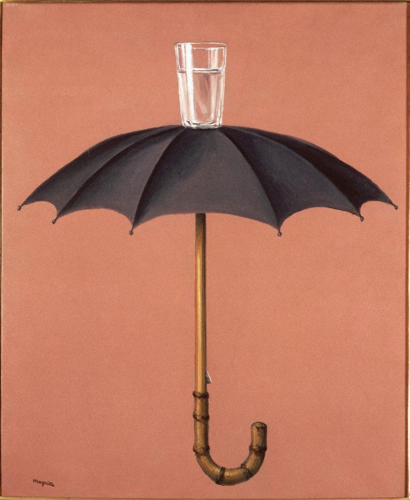 René Magritte, Les vacances de Hegel, 1958 - © Photothèque R. Magritte / Banque d'Images, Adagp, Paris, 2016