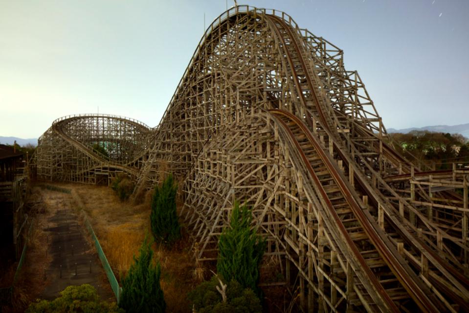 Nara Dreamland rollercoaster © Henk Van Rensbergen