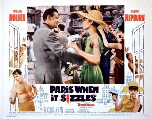 Audrey Hepburn, Paris when it sizzles (1964) starring William Holden