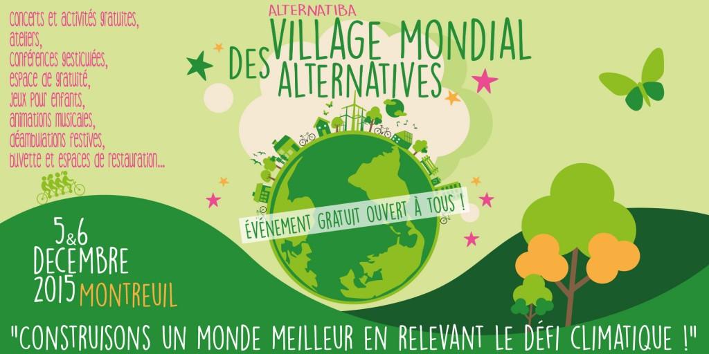 Village Mondial des Alternatives